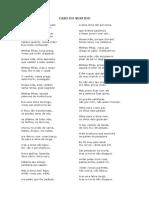 Caso Do Vestido - o Poema