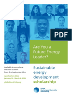 GSEP Scholarship Program Brochure
