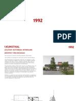 Architects 1992 - 1998