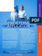 Senior Permit Application
