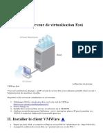 Initiation à La Virtualisation Avec VMWare Esxi