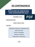 Plan Contingencia EESS Operación
