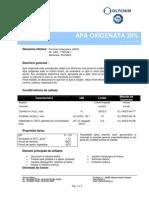 APA OXIGENATA 35