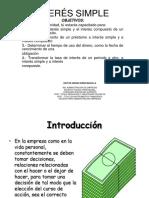 CLASE n°1 Interes Simple