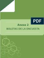 Anexo 1 Boletas de Encuesta