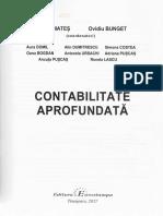 Contabilitate Aprofundata - Dorel Mates, Ovidiu Bunget