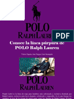 Víctor Zapata, Ana Vargas, Luis Irausquín - Conoce La Linea Purpura de POLO Ralph Lauren