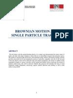 Brownian Motion Handout