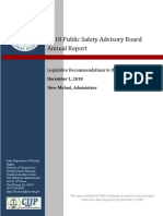 Iowa Public Safety Advisory Board Annual Report