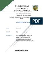 Quimica II. Informe Cobre