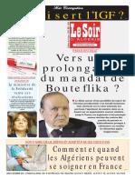Journal Le Soir d Algerie Du 03.12.2018