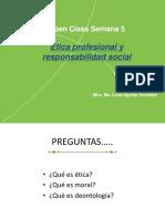 Open Class ética profesional y resp soc