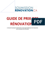 Guide de Prix de Renovation Mai 2017 2