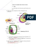 Biology EOCT- Answer Key