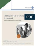 i Hi Psychology of Change Framework White Paper