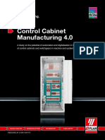 Control Cabinet Manufacturing 4.0 Study
