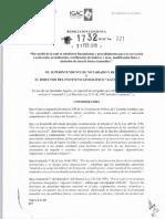 Resolución 1732 IGAC