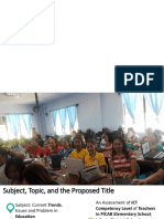 ICT Competency Level of Public School Teachers in the Philippines