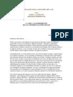Nota Sobre La Expresión -Iglesias Hermanas- (CDF)