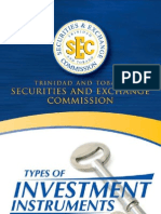 SEC - Types of Investment Instruments