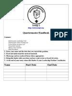 Quartermaster Handbook.doc