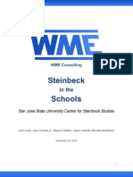 steinbeck in the schools project