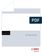 Bosch MIC 400 Series Operation Manual