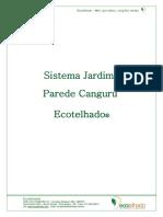 Manual e Especificações Sistema Jardim de Parede Canguru 1