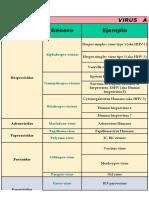 virus clasificación