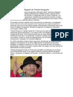 Biografía de Tránsito Amaguaña