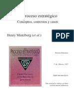 LAS CINCO P DE LA ESTRATEGIA MINTZBERG