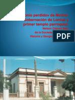 El Patrimonio Perdido, Edificio de La Gobernación de Lontué.