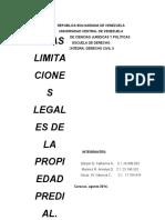 254123283 LIMITACIONESde La Propiedad Predial