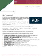 Carta Presentacion Keyson de Mexico