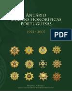 Anuário das Ordens Honoríficas Portuguesas 1975_2007 (versão integral)