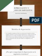 Depreciación y Análisis de Impuestos