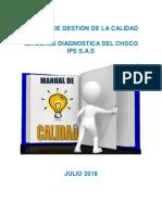 Manual de Calidad v2 2018