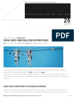 Social Video_ Come Realizzare Un Video Virale _ What We Are Thinking