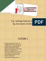 Presentación Marketing de Servicios