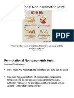 Permutational tests