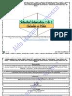 Actividad Integradora 4 de 6 - Calcular en Moles - Módulo 14 - Prepa en línea - SEP - G-12