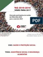 Trabalho Sedese - PPAG 2016-2019 para o exercício 2017