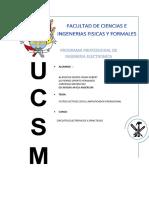 Filtros activos y pasivos informe