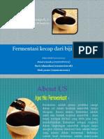 fermentasi kecapa dari biji lamptoro