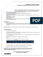 Requisitos Para Elaborar Contrato Por Servicios Sin Medidor