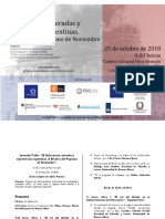 Jornada I 2018 - Programa Definitivo (2)