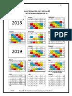 Color Day Calendar