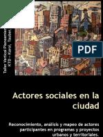 15actores Sociales Plan II 2013