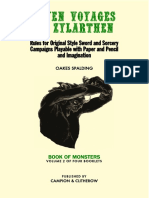 Seven Voyages of Zylarthen - Vol. 2, Book of Monsters