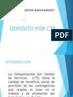 Contratos - Deposito Por Cts - Blossiers